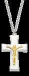 Crucifix Mens Necklace